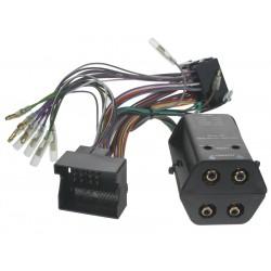 4 kanálová redukcia repro / CINCH - MOST konektor