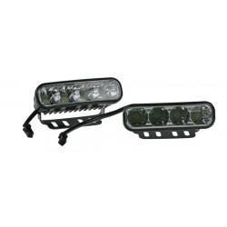 LED svetlá pre denné svietenie, 120x36mm, ECE