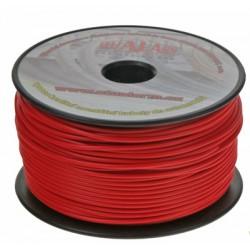 Kábel 1 mm, červený, 100 m bal