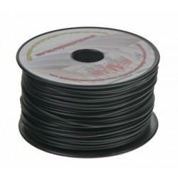 Kábel 1 mm, čierny, 100 m bal