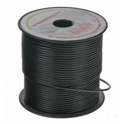 Kábel 1,5 mm, čierny, 100 m bal