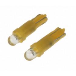 LED T5 žltá, 12V, 1LED