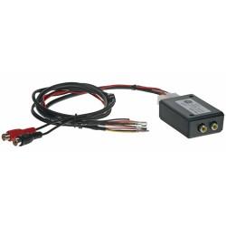 adaptér A / V výstup pre OEM navigáciu VW RNS-510 (MFD3) so spätnou kamerou alebo TV tunerom