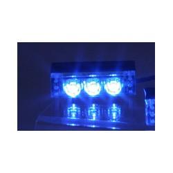 PREDATOR LED do mriežky, 12V, modrý