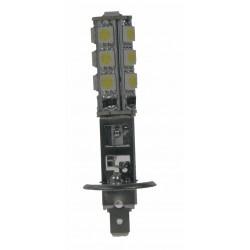 LED H1 biela, 12V, 13LED / 3SMD