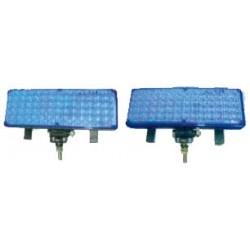 x PREDATOR LED vonkajší, 12V, modrý
