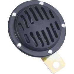 Diskový klaksón (vysoký tón), priemer 90mm, 12V