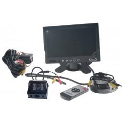 Parkovacia kamera s 7 monitorom