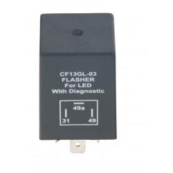 prerušovač smeroviek LED, 12V, 1-10 pre európske autá