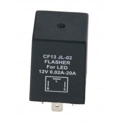 Prerušovač smeroviek LED, 12V, 0,02-20A pre japonské autá