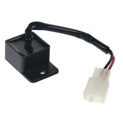 Prerušovač smeroviek LED, 12V, 0,05-10A, pre motocykle