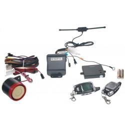 SPY 2-WAY motoalarm, 2 x LCD ovládač, CE