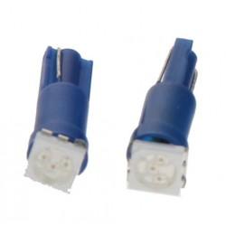 LED T5 modrá, 12V, 1LED / 3SMD