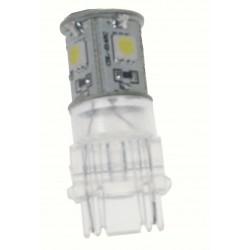 LED T20 (3156) biela, 12V, 5LED / 3SMD