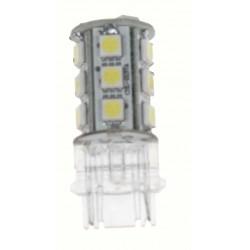 LED T20 (3156) biela, 12V, 18LED / 3SMD