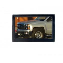 LCD monitor 5 čierny na palubnú dosku s možnosťou inštalácie na HR držiak
