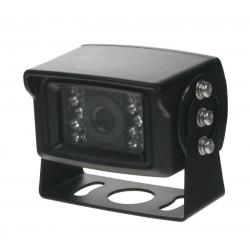 Kamera CCD s IR svetlom, 12 / 24V, PAL