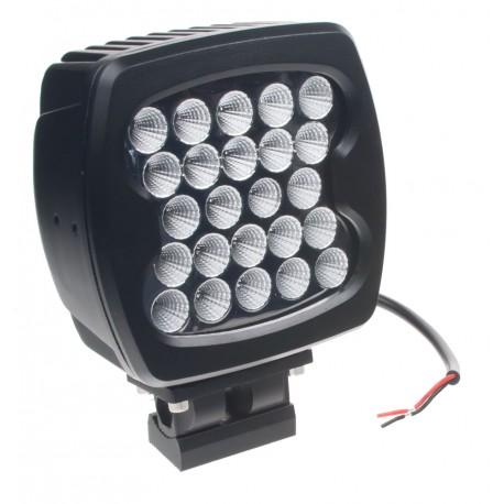 LED 24x3W prac.svetlo, 10-30V, 140x140mm