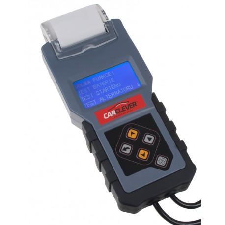 Tester akumulátorov s tlačiarňou 3v1