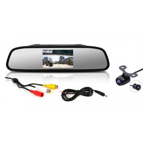 Parkovacia kamera s LCD 4,3 monitorom na zrkadlo