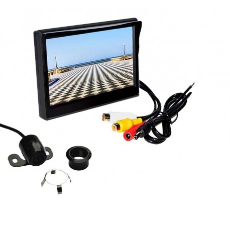 Parkovacia kamera s LCD 5 monitorom