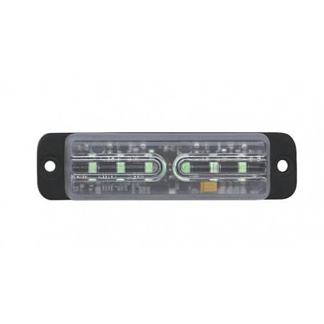 LINEAR LED 6x5W LED, 12-24V, modrý, ECE R65
