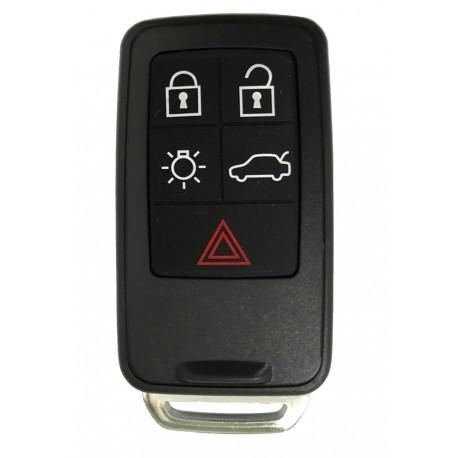 Náhr. ovládač s kľúčom pre Volvo, 5-tlačidlový 433MHz