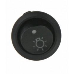 Spínač kolískový okrúhly 20A na svetlá vnútorné