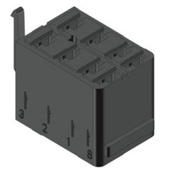 Inštalačný konektor (pätica) pre rocker spínače