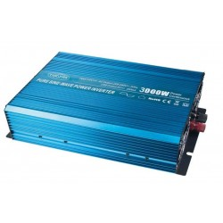 Sínusový menič napätia z 12 / 230V + USB, 3000W