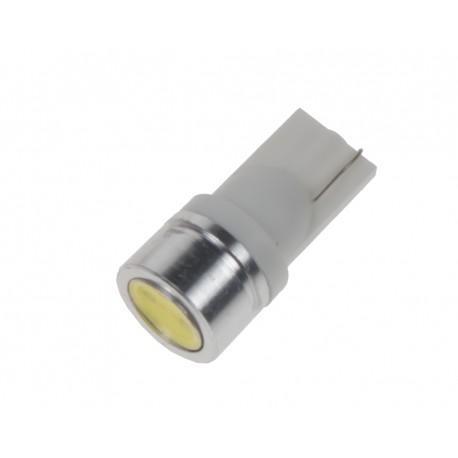 LED T10 biela, 12V, 1LED / 1W superradio