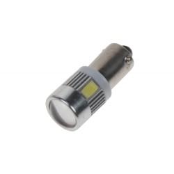 LED BA9s biela, 12-24V, 6LED / 5730SMD