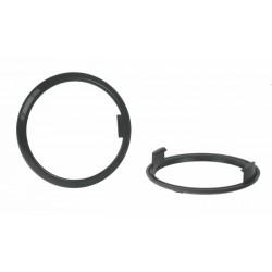 nE Redukčný krúžok pre svetla sj-288 čierny 5mm