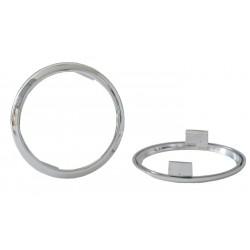 Redukčný krúžok pre svetla sj-288 chrómový 5mm