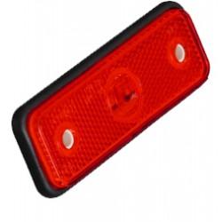 Zadné obrysové svetlo LED, červený obdĺžnik