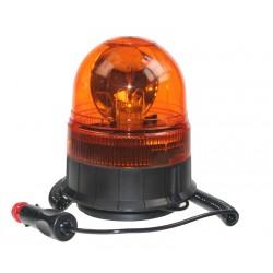 Halogén maják, 12 i 24V, oranžový magnet, ECE R65