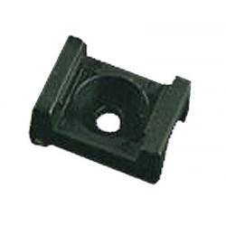 Plastová príchytka štvorcová M6, 100 ks