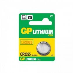 Batérie CR2025 3 V / 150 mAh, priemer 20 x 2,5 mm