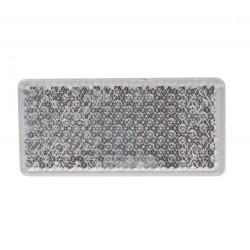 Predná (biely) odrazový element - obdĺžnik 95 x 45mm nalepovacie