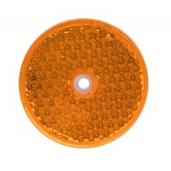 Bočné (oranžový) odrazový element - koliesko pr.60mm