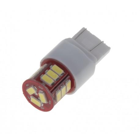 LED T20 (7443) biela, 12-24V, 18LED / 5730SMD