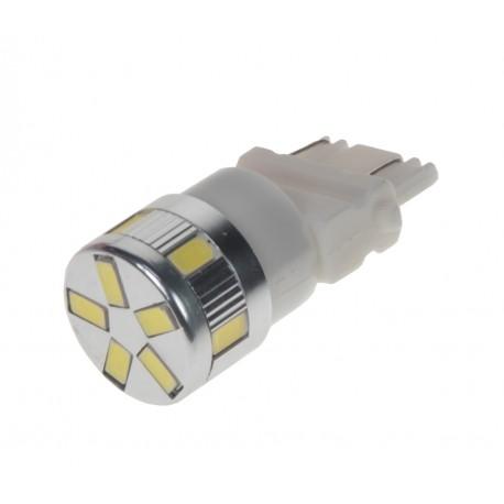 LED T20 (3157) biela, 12-24V, 11LED / 5730SMD