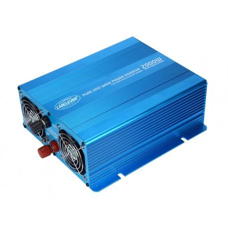 Sínusový menič napätia z 12 / 230V, 2000W / displej