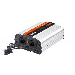 Autonabíjačka 12V / 10A + menič sinus 600W 12 / 230V, UPS