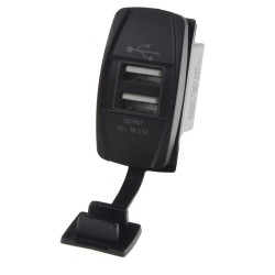 2x USB zásuvka Rocker