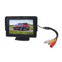 Parkovací systém so 4-mi senzormi a kamerou + LCD 4,3