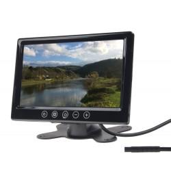 LCD monitor 9 čierny do opierky alebo palubnú dosku