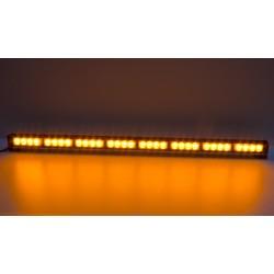 LED svetelná alej, 32x 3W LED, oranžová 910mm, ECE R65