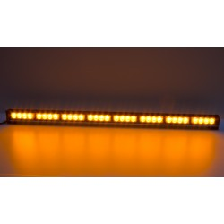 LED svetelná alej, 32x 3W LED, oranžová 910mm, R10 R65