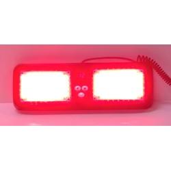 PREDATOR dual LED vnútorné, 12V, červený, 320mm